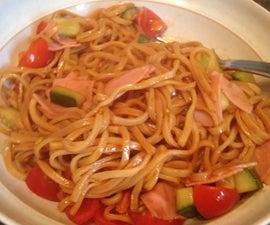 One Pot Noodle Lunch!