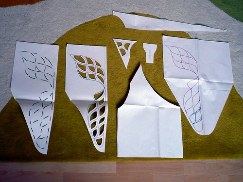 Picture of The Pattern and Stencils