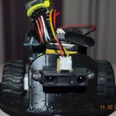Arduino robot with ir detector