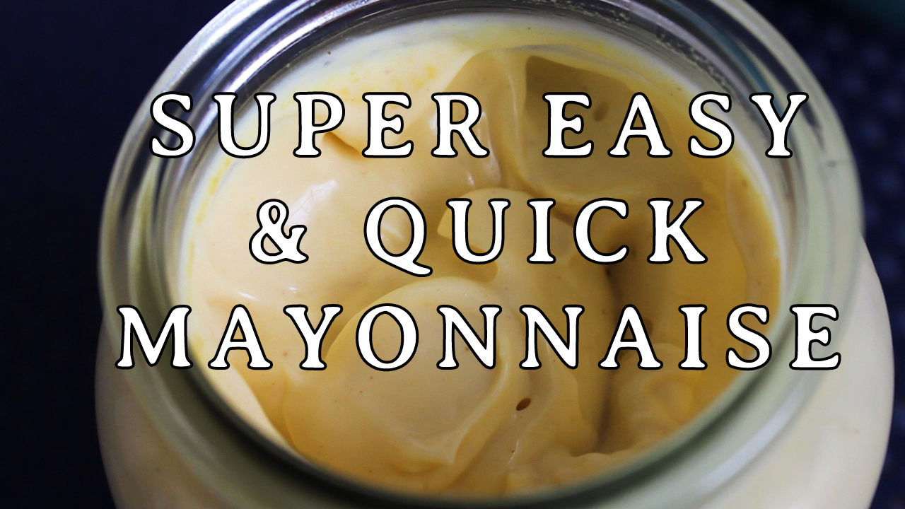 Picture of Super Quick and Easy Mayonnaise