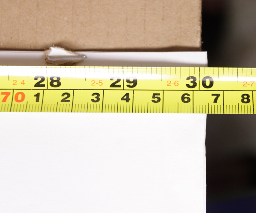 Picture of Measure Post-IT Pad