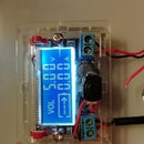 Adjustable LCD Breadboard Power Supply