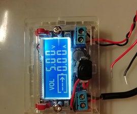 Adjustable LCD Breadboard Power Supply