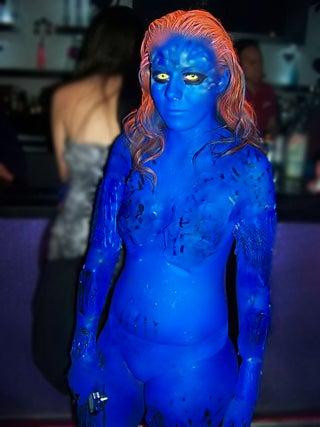 Sexy Mystique Costume