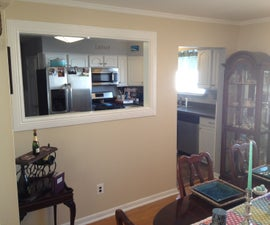 Kitchen Wall Pass Through