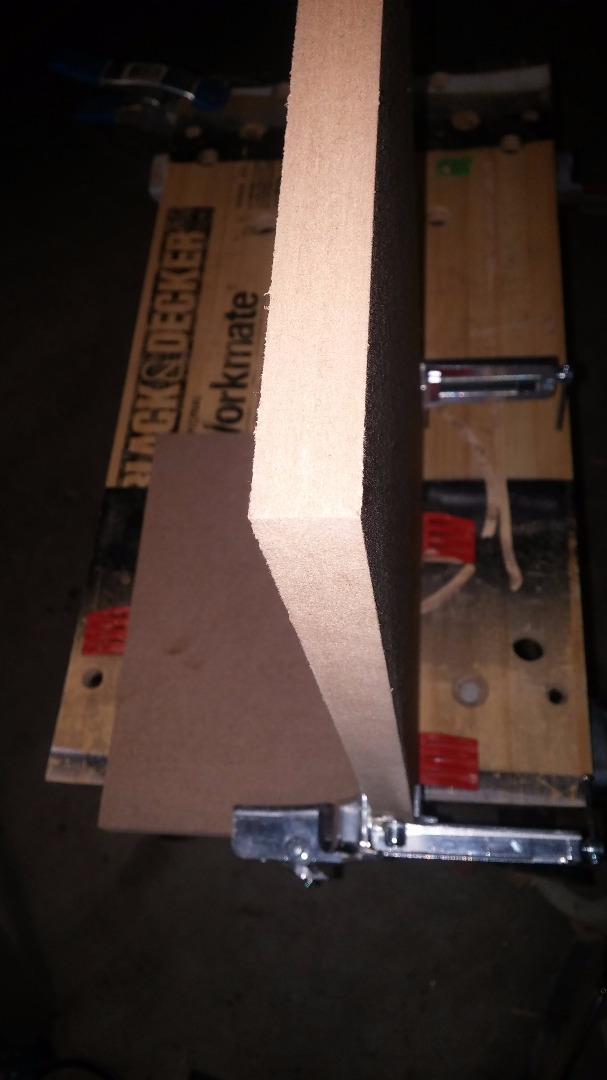 Picture of Gluing Front - Back - Top and Bottom