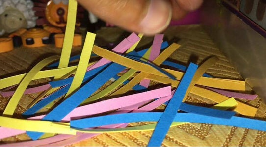 Making the Quilling Strips