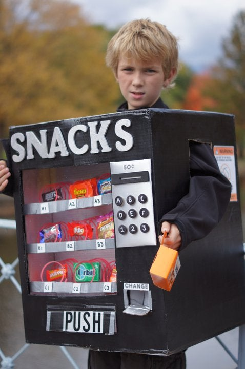 Halloween Vending Machine Costume