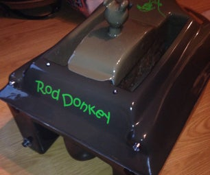the Rod Donkey Diy Bait Boat
