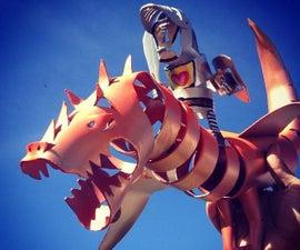 PVC Pipe Dragon