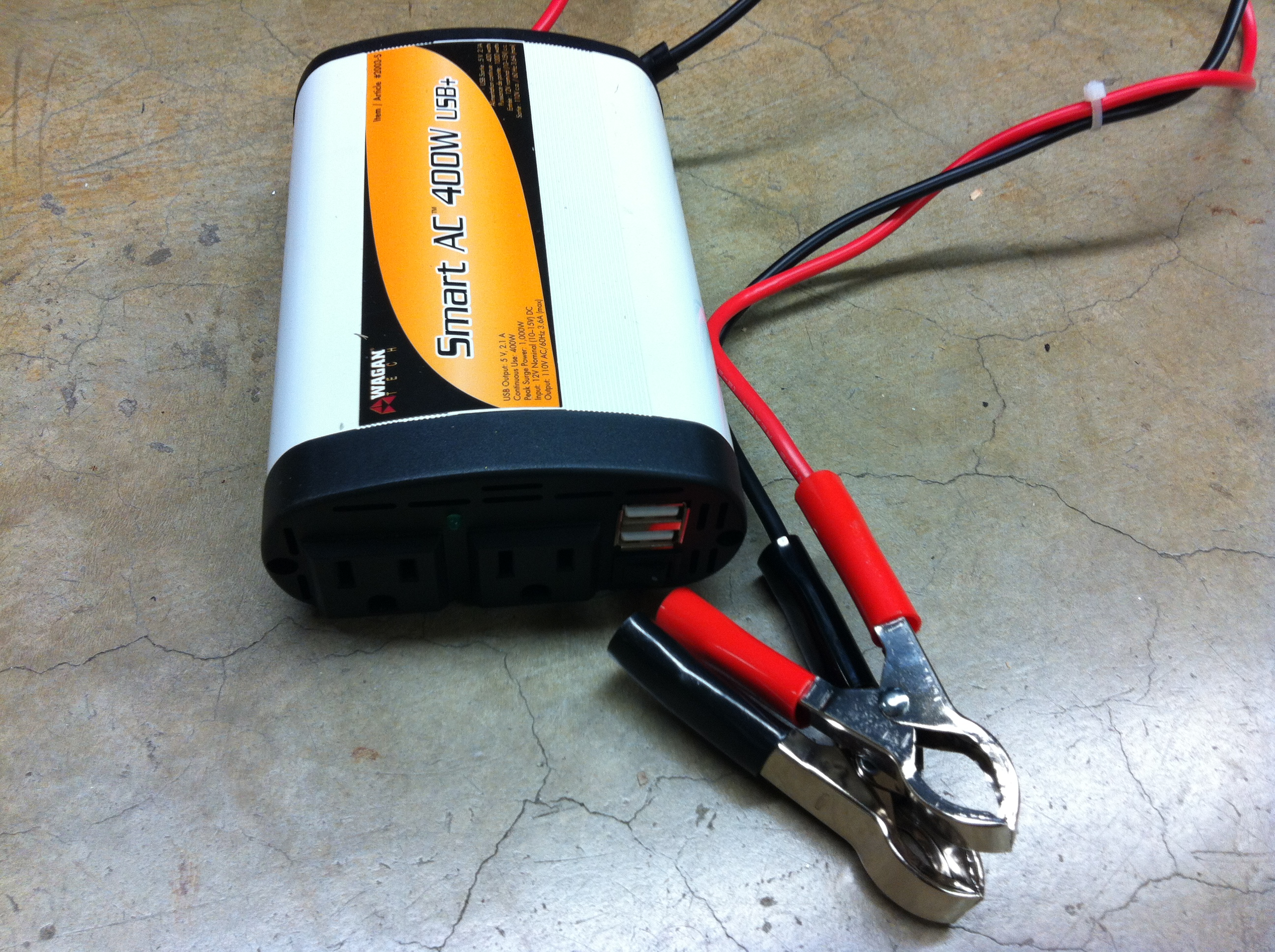 Picture of Battery to Inverter