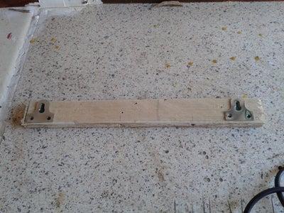 Adding Back Panel, Hanging Hardware & Paint