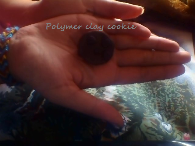 Picture of Polymer Clay Cookie