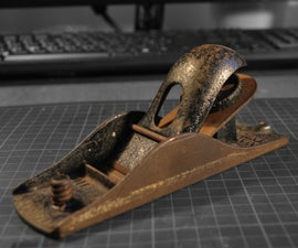 How to Refurbish and Old Stanley No.110 Wood Plane