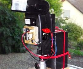 Slaveflash-trigger for digital cameras with Attiny24