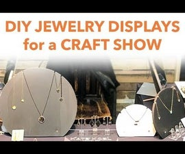 Elegant Jewelry Displays for a Craft Show or Home