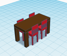 3d Printed Table