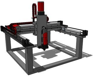 Arduino Controlled CNC / 3D Printer Hybrid