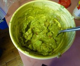 Easy Delicious Guacamole!