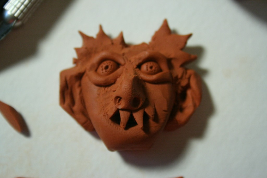 Picture of Turn Clay Into Chocolate Halloween Pops