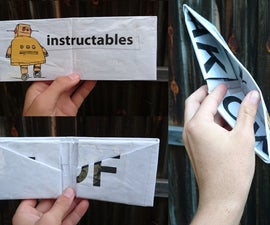 HOW TO MAKE A WALLET FROM ONE PIECE OF NEWSPAPER