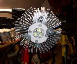 1300 Lumen Bike Light
