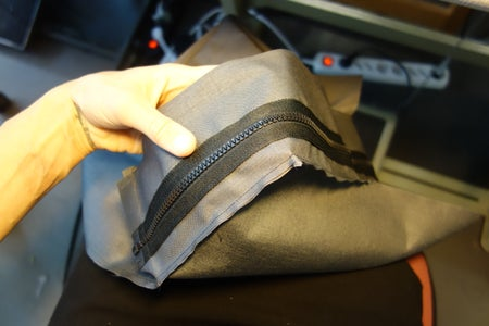 Upside-Down Pouch: Sewing Together