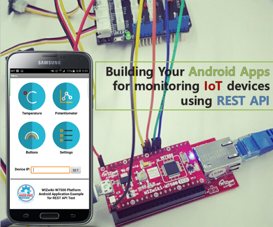 Building Your Android Apps for Monitoring IoT Devices Using