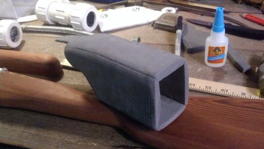 Sanding & Painting Receiver Cover