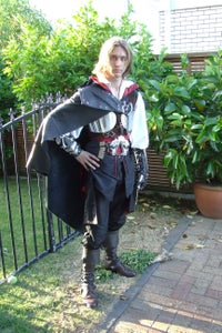 Assassins Creed Black Edition Cosplay