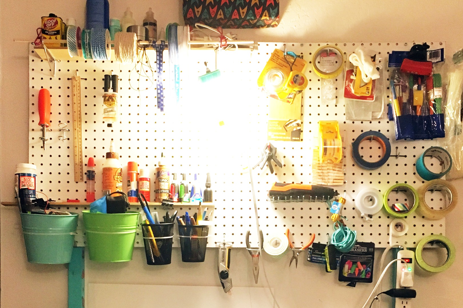 Picture of Zip Tie  Organizer to Pegboard Mount