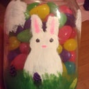 Cute Easter Jar Decoration