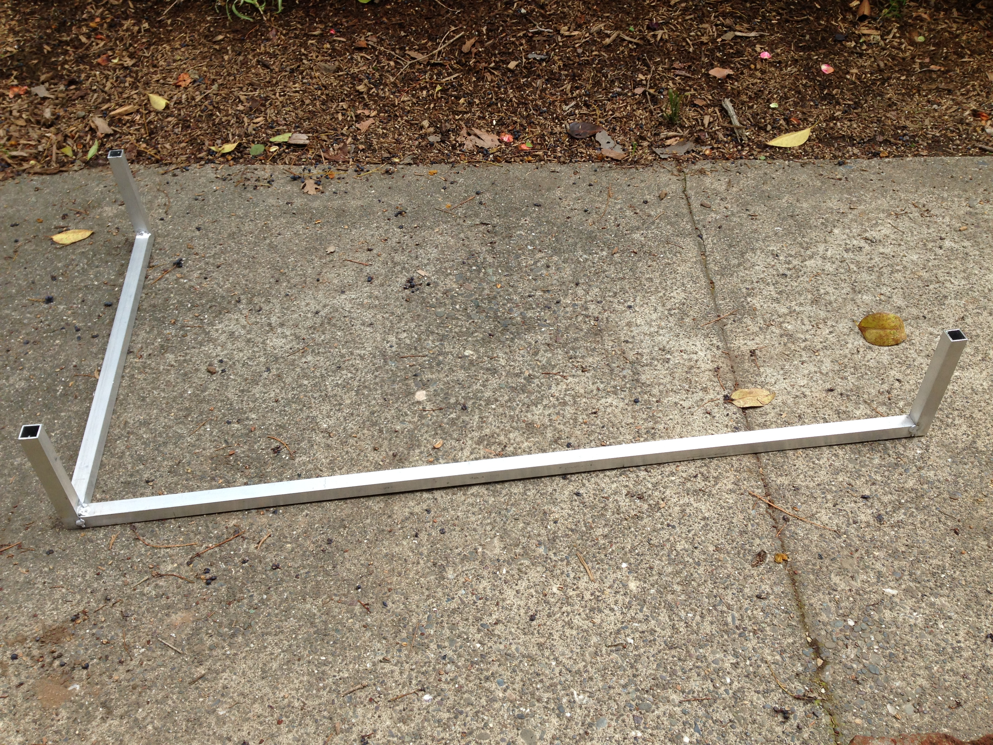 Picture of Step 2: the Aluminum Frame