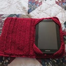 "Crocheted Case for a 7"" Tablet"