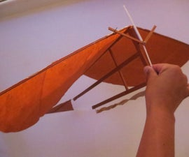 Rubber Band Ornithopter Airplane