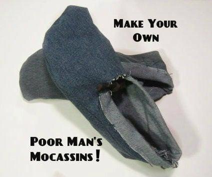 Poor Man's Moccasins