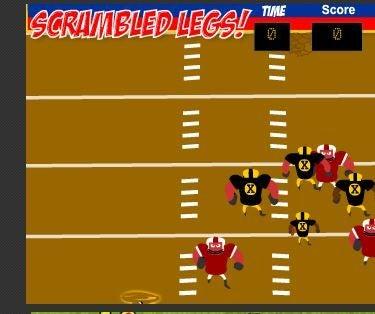 NFL Scramble Legs Game Glich