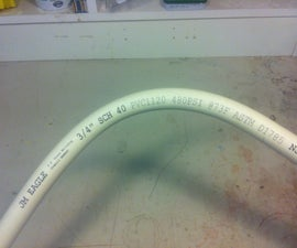 Bending PVC pipe - Just because you can