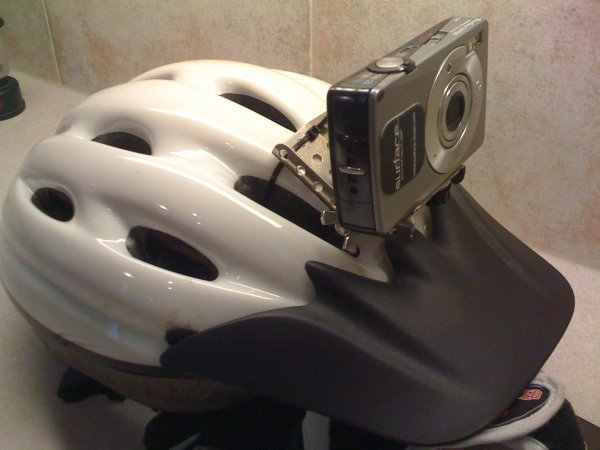 Picture of Home-made Helmet Cam