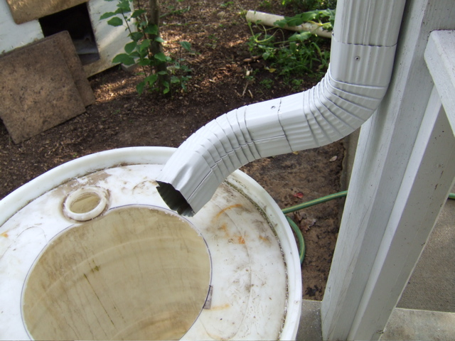 Picture of Modify the Downspout