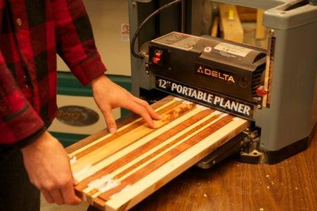 Scrap-Wood Cutting Board