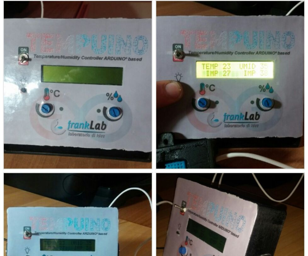 TempUino a Temperature/Humidity Controller Arduino Based: 6 Steps