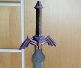 Master Sword Papercraft