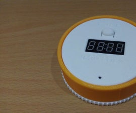 an Attiny85 Twist-to-Set Kitchen Timer