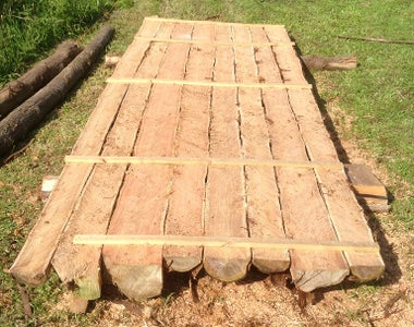 Tie the Sections Together Using Battens and Screws