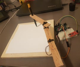 Drawing Arm That's Controlled by Sound - Arduino School Project