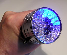 The universal multicolour torch (flashlight)