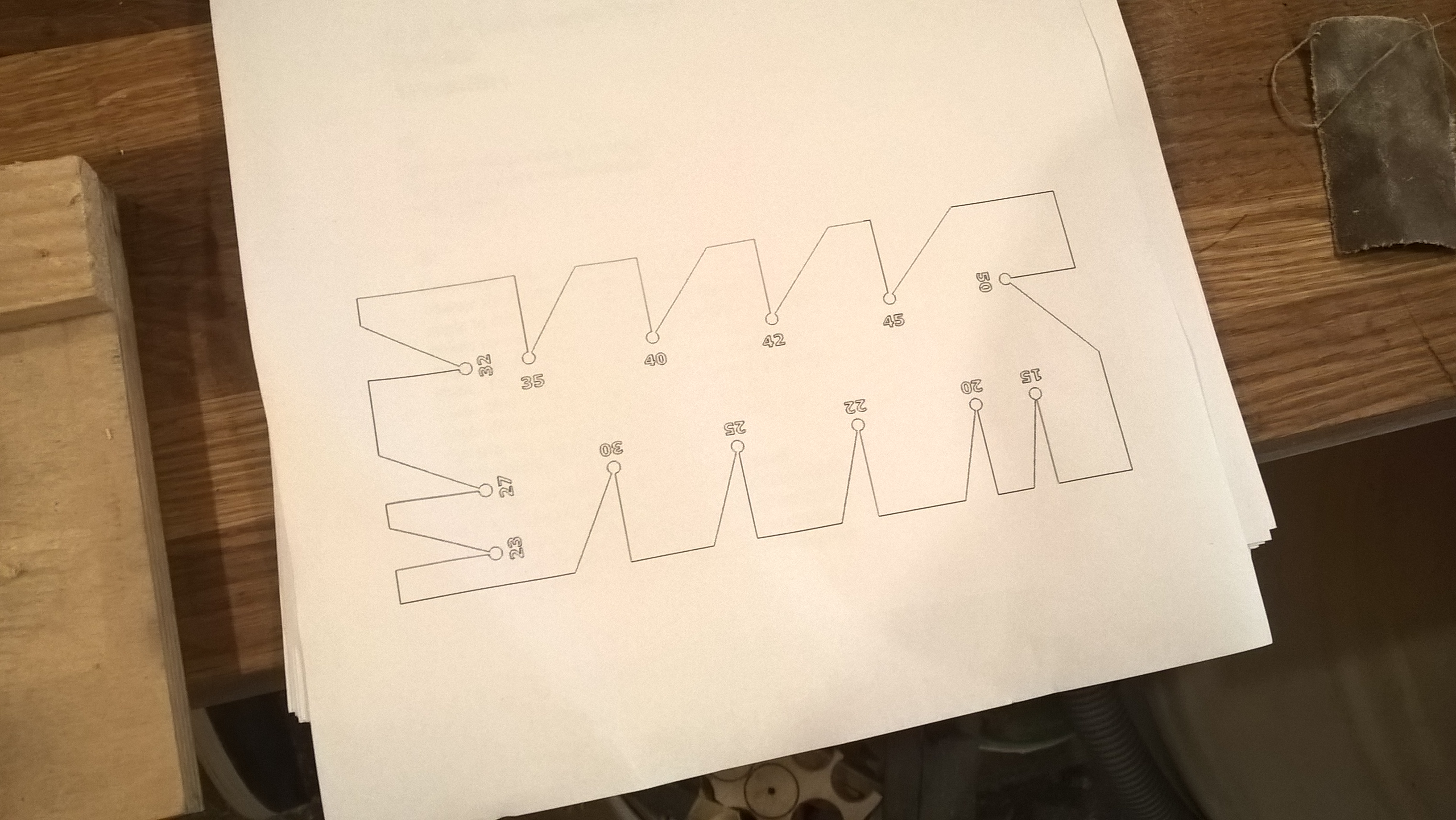 Picture of Cut Out the Template