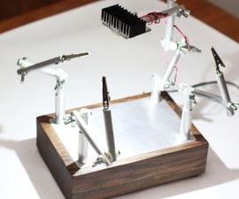 10 Watt LED Task Lamp w/ 3rd Hands