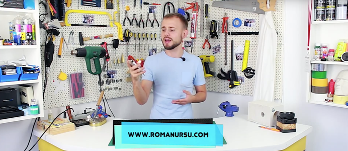 A Little Bit of Patience, Some Instruments and the Video of Roman Ursu Will Help You. I Will Appreciate Very Much Repost of This Video As I Consider This Idea As an Extraordinarily Cool in the Field of Hand Made Crafts.